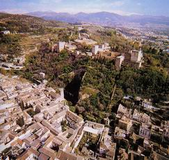 11- Arrabales en torno a la Alhambra de Granada