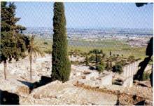 14- Córdoba, al fondo, desde Madinat al Zahra